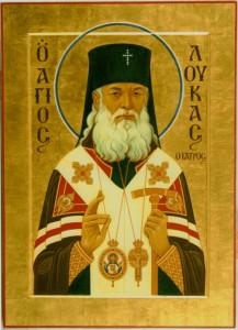 Икона святителя Луки Крымского