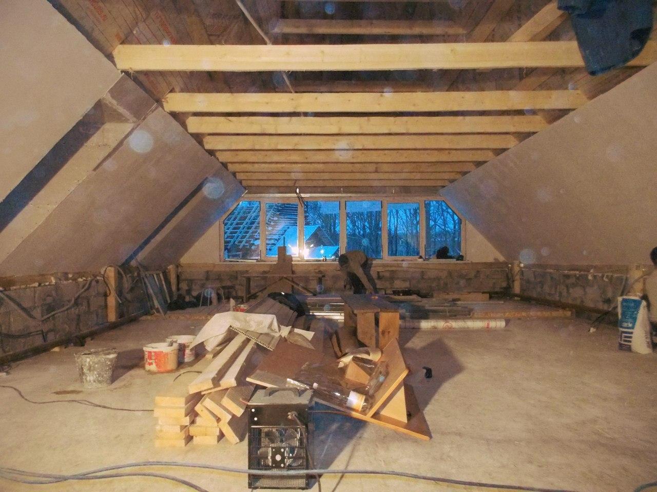 Отделочные работы на втором этаже часовни Луки Крымского