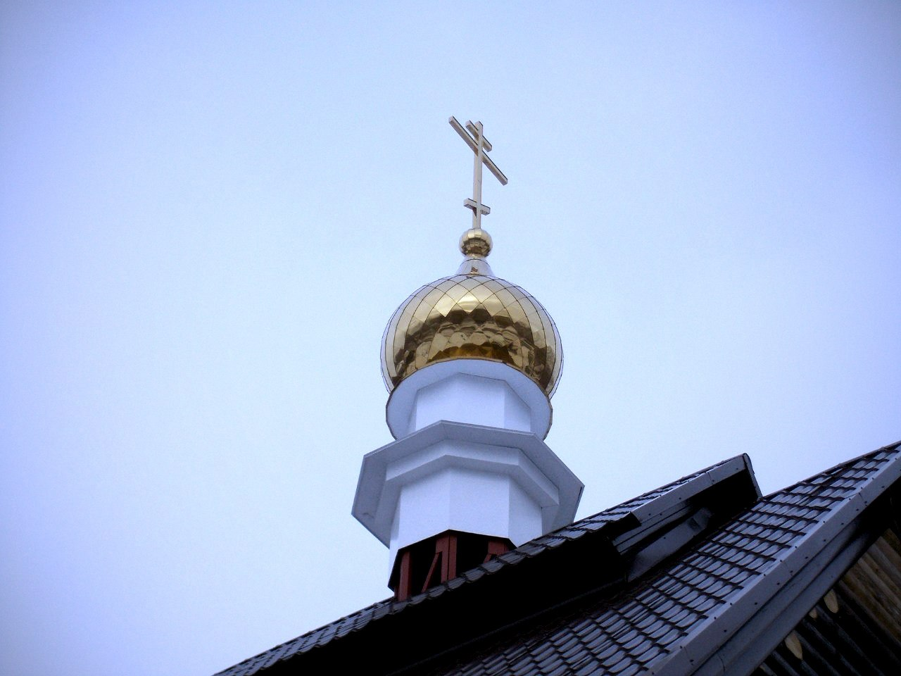 Купол на храме Луки Войно-Ясенецкого