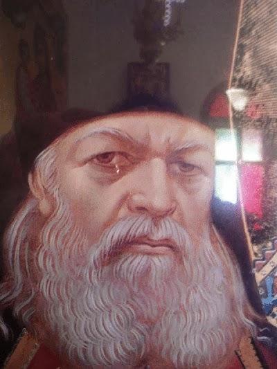 Прослезилась икона святого Луки Крымского