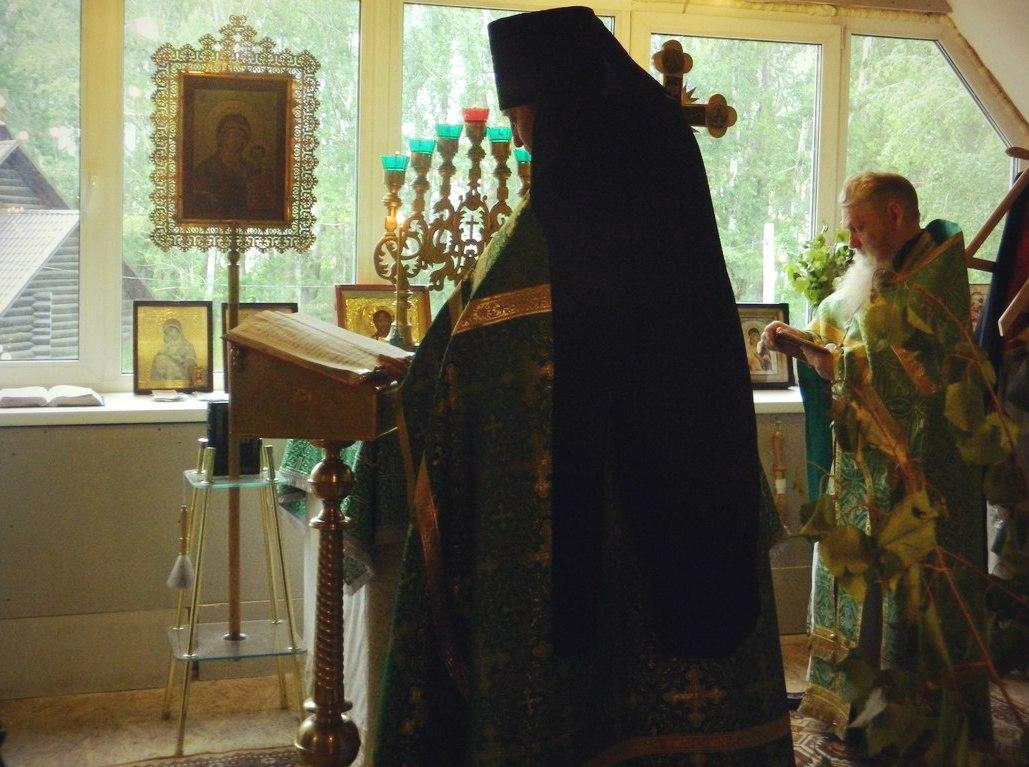 о.Сафроний на праздничной литургии