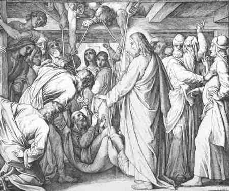 """Исцеление Иисусом больного по """"вере Их"""""""
