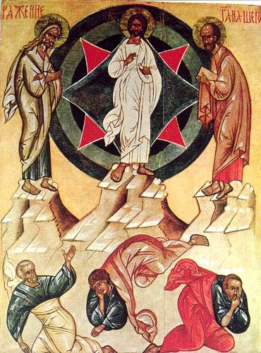 Преображение Господне икона праздника