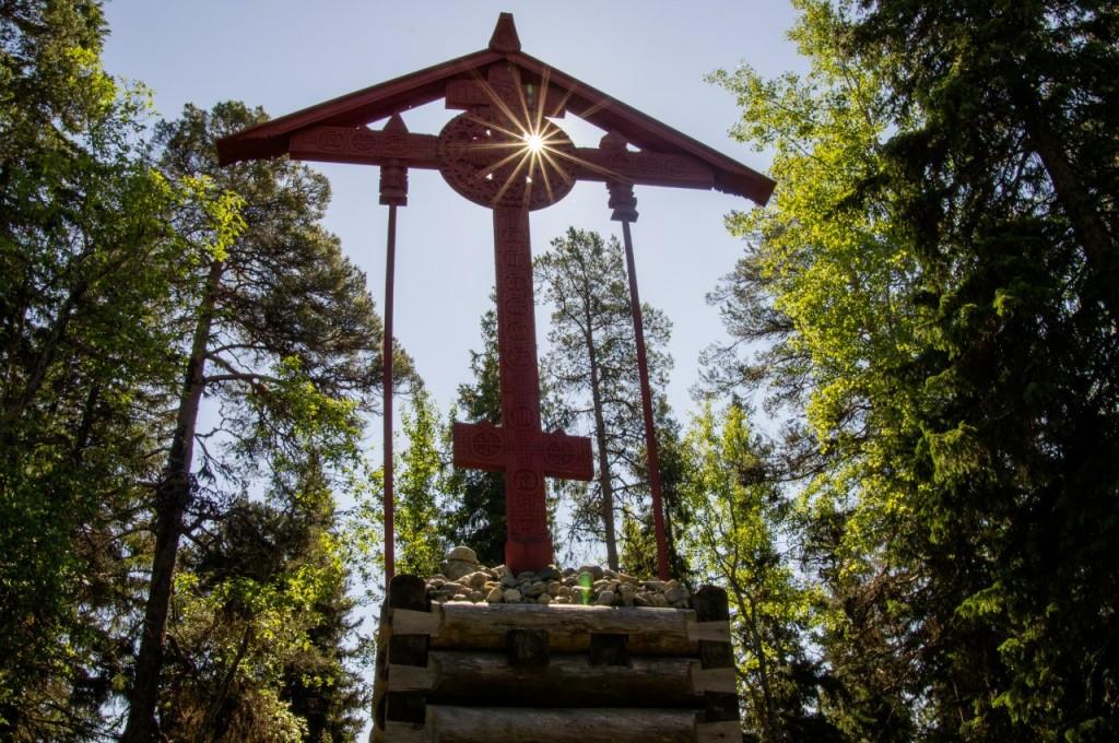 Крест на Соловках