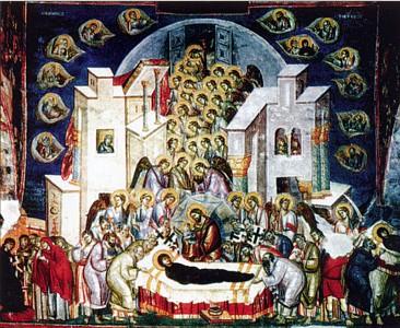 Икона Успения Богородицы Девы Марии