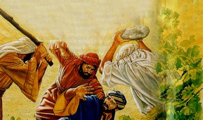 Проповедь о злых виноградарях (иллюстрация)