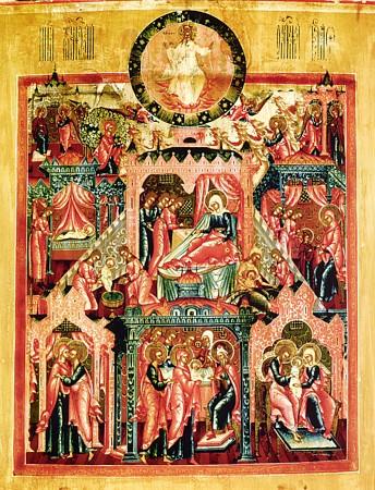 Икона Пресвятой Владычицы нашей Богородицы и Приснодевы Марии