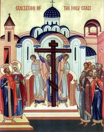 Икона праздника (Крестовоздвижение)