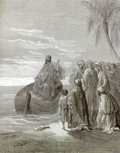 Проповедь близ озера