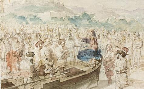 Проповедь с лодки