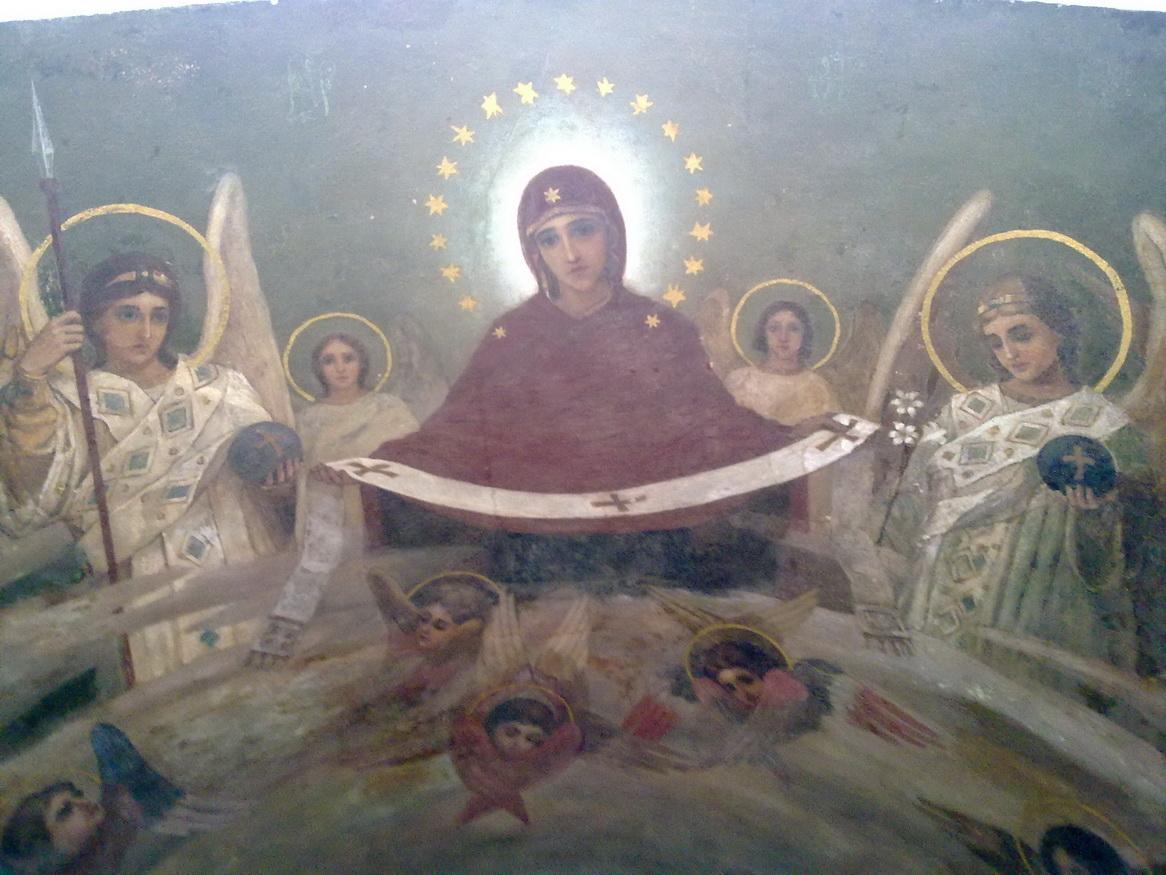 Икона дня: Покров Пресвятой Богородицы