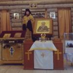 Прибытие ковчега с частицей мощей и иконы Матроны Московской