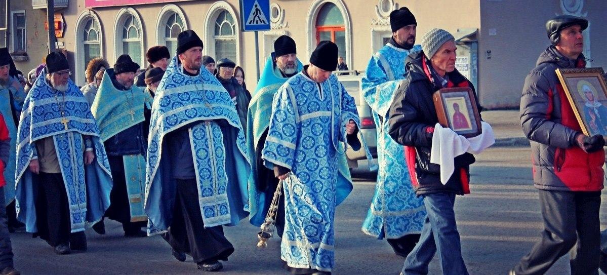 Крестный ход в Березниках