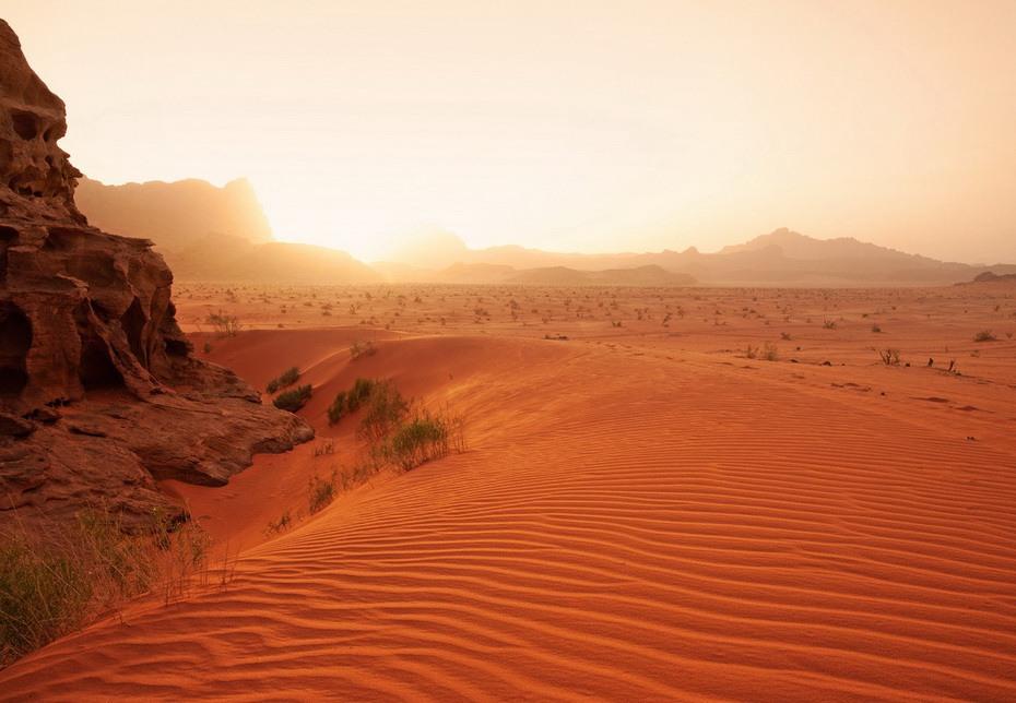 Иордания, пустыня Вади-Рам