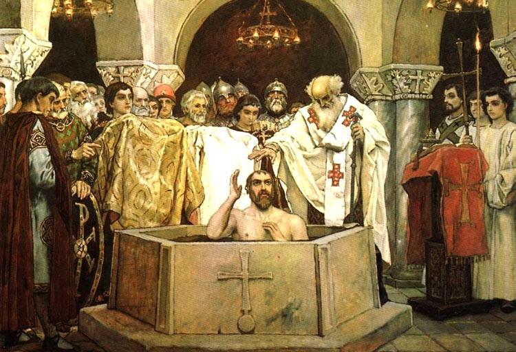 Крещение князя