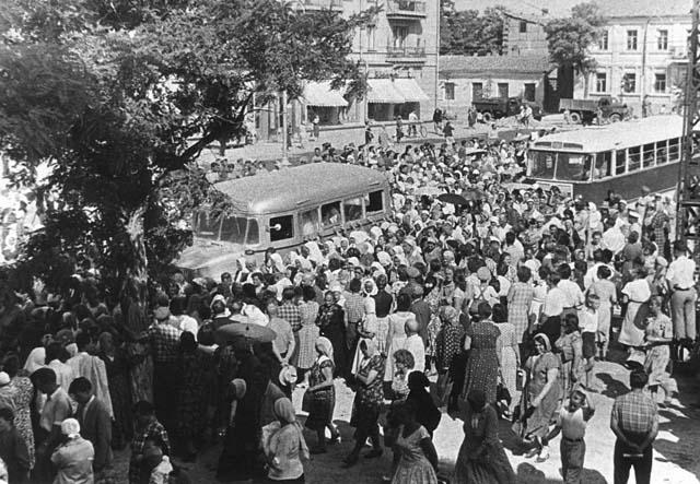 Похороны святителя Луки. Симферополь, 1961 год