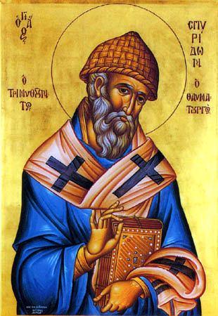 Икона святителя Спиридона Тримифунтскго