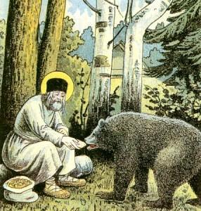 Икона преподобного Серафима Саровского, чудотворца