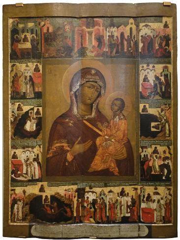 Икона пресвятой богородицы Лиддская Римская из Борисоглебского монастыря.