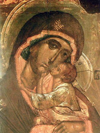 Фото Словенской иконы Божией Матери